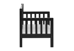Black/White Hudson 3 in 1 Convertible Toddler Bed Silo 05