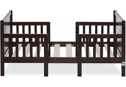 Espresso Hudson 3 in 1 Convertible Toddler Bed Silo 04