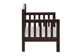 Espresso Hudson 3 in 1 Convertible Toddler Bed Silo 05