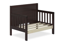 Espresso Hudson 3 in 1 Convertible Toddler Bed Silo 09