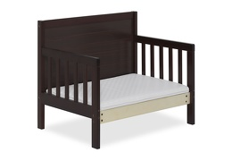 Espresso Hudson 3 in 1 Convertible Toddler Bed Silo 10