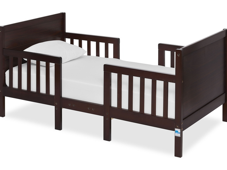 Espresso Hudson 3 in 1 Convertible Toddler Bed Silo 01 a