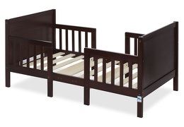 Espresso Hudson 3 in 1 Convertible Toddler Bed Silo 02