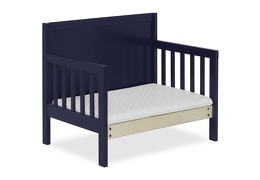 Navy Hudson 3 in 1 Convertible Toddler Bed Silo 10