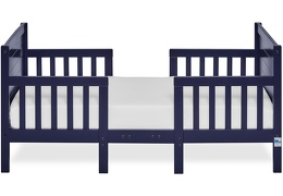 Navy Hudson 3 in 1 Convertible Toddler Bed Silo 03