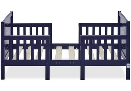 Navy Hudson 3 in 1 Convertible Toddler Bed Silo 04