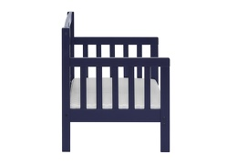 Navy Hudson 3 in 1 Convertible Toddler Bed Silo 05