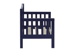 Navy Hudson 3 in 1 Convertible Toddler Bed Silo 06