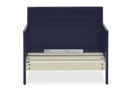 Navy Hudson 3 in 1 Convertible Toddler Bed Silo 07
