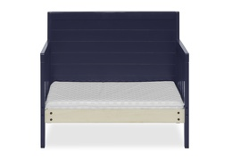 Navy Hudson 3 in 1 Convertible Toddler Bed Silo 08