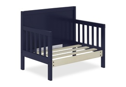 Navy Hudson 3 in 1 Convertible Toddler Bed Silo 09