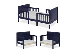 Navy Hudson 3 in 1 Convertible Toddler Bed Collage