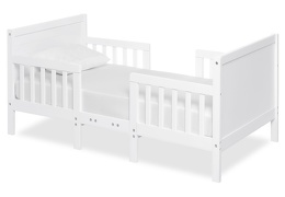 White Hudson 3 in 1 Convertible Toddler Bed Silo 01 a