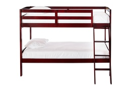 Logan Mini Twin Over Twin Bunk Bed Silo Front 709 C