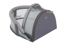 Snug N' Sleep Portable Lounger in Grey 03 Silo
