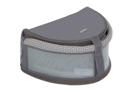 Snug N' Sleep Portable Lounger in Grey 04 Silo