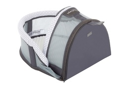 Snug N' Sleep Portable Lounger in White 03 Silo