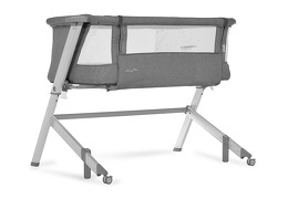 Skylar Bassinet & Bedside Sleeper in Grey Silo 02