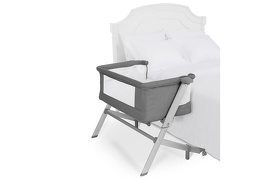 Skylar Bassinet & Bedside Sleeper in Grey Silo 04