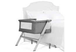 Skylar Bassinet & Bedside Sleeper in Grey Silo 03