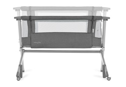 Skylar Bassinet & Bedside Sleeper in Grey Silo 06