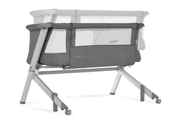 Skylar Bassinet & Bedside Sleeper in Grey Silo 07