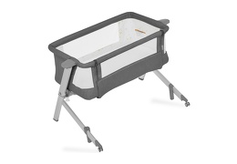 Skylar Bassinet & Bedside Sleeper in Grey Silo 08