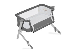 Skylar Bassinet & Bedside Sleeper in Grey Silo 09