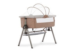 Lotus Bedside Sleeper in Brown Silo 01