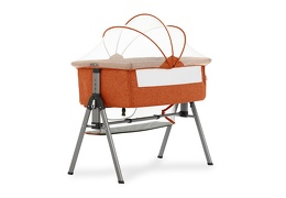 Lotus Bedside Sleeper in Orange Silo 01