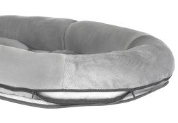 Portable Cozy Lounger in Grey Silo 05