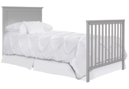 635-PG Ava Full Size Bed with Footboard Silo