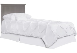 635-SGY Ava Full Size Bed without Footboard Silo