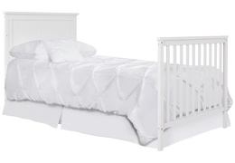 635-W Ava Full Size Bed with Footboard Silo