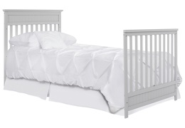 636-PG Harbor Full Size Bed with Footboard Silo