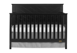 659-K Skyline 5 in 1 Convertible Crib Front Silo
