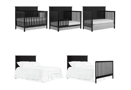 659-K Skyline 5 in 1 Convertible Crib Collage