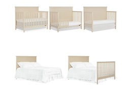 659-OP Skyline 5 in 1 Convertible Crib Collage