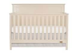 659-OP Skyline 5 in 1 Convertible Crib Front Silo
