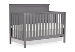 659-SGY Skyline 5 in 1 Convertible Crib Side Silo