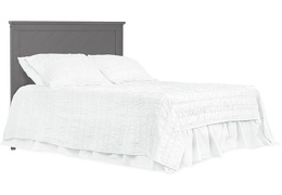 659-SGY Skyline Full Size Bed without Headboard Silo