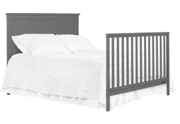 659-SGY Skyline Full Size Bed with Headboard Silo