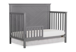 659-SGY Skyline Toddler Bed Silo