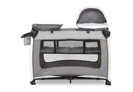 389-GREY Princeton Deluxe Nap 'N Pack Playard Silo 02