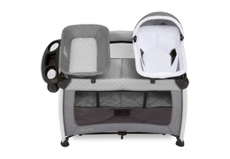 389-GREY Princeton Deluxe Nap 'N Pack Playard Silo 03
