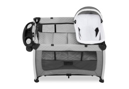 389-GREY Princeton Deluxe Nap 'N Pack Playard Silo 05
