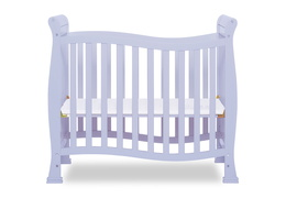 631-LI Violet/Piper 4 in 1 Convertible Mini Crib Front Silo 02