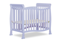 631-LI Violet/Piper 4 in 1 Convertible Mini Crib Side Silo