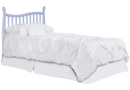 631-LI Violet/Piper Twin-Size Bed without Head Board Silo