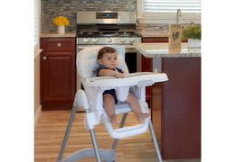 243-GRY Solid Times High Chair RmScene Baby